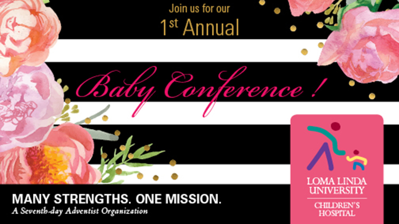 Image: 1st Annual Baby Conference Banner