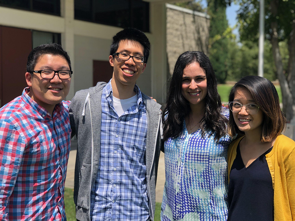 Andrew, Joshua, Rachel, Tiffany LLU Pediatric Chief Residents 2018-2019