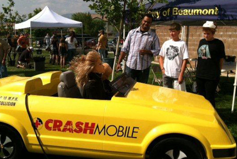 Crashmobile exhibit