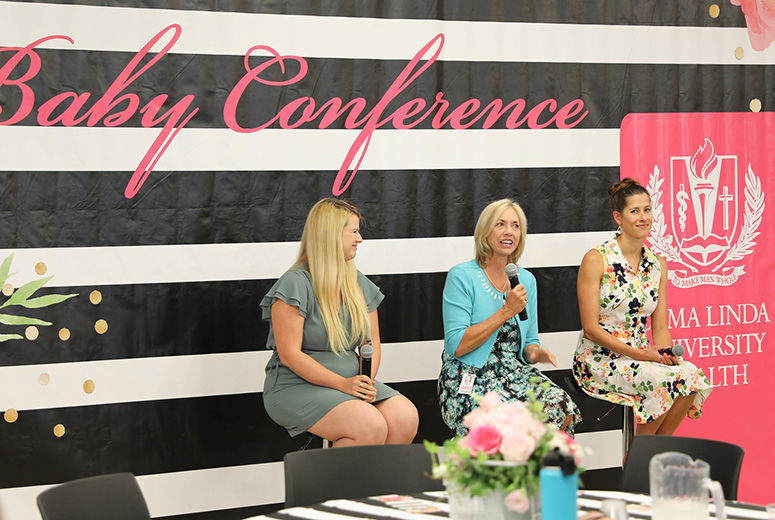 Speakers at Baby Conference