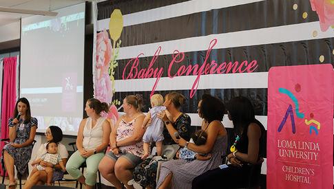 Loma Linda University Health Baby Conference panel