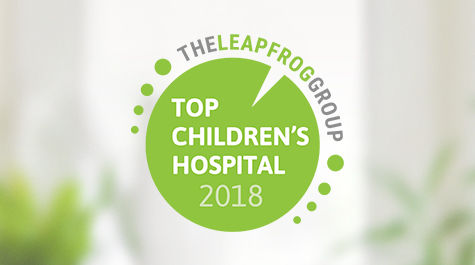 Leapfrog Top Children's Hospital Logo