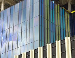 Loma Linda University Children's Hospital Colored Windows