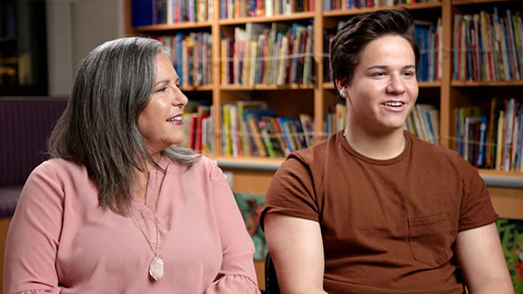 alex and his mom